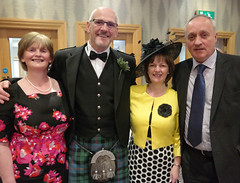 A great night (Donald Morrison) Tags: wedding northernireland inverness habost drumossiehotel nessbankchurch freechurchofscotlandcontinuing