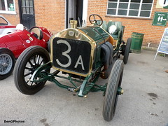 Wolsid (BenGPhotos) Tags: autumn green classic sports car museum race vintage day racing event british veteran motorsport brooklands wolseley 1907 2015 coppa siddeley florio wolsid y1150