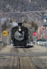 Narrow Gauge Steam (Conrail4ever) Tags: mountains train colorado silverton trains steam gauge narrow durango engineer dsng k36