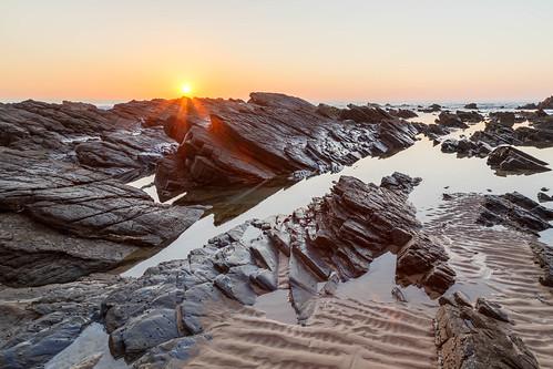 Sunset on the Rocks