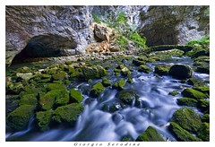 _MG_2878 copia (Giorgio Serodine) Tags: fiume ponte pietre slovenia rocce alghe doline