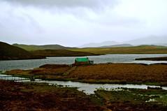 isle of lewis (plot19) Tags: uk house west green dark landscape island photography islands scotland mood moody northwest britain north lewis scene western british outer northern tones isle isles scotish hebrides plot19