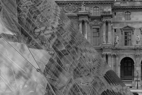 Louvre - alt und modern