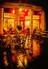 Cheltenham at Night (simonvaux1) Tags: winter cold simon wet rain night reflections outside restaurant cafe nikon colours angle wide gloucestershire full frame promenade fx cheltenham damp d800 dx 1024 vaux