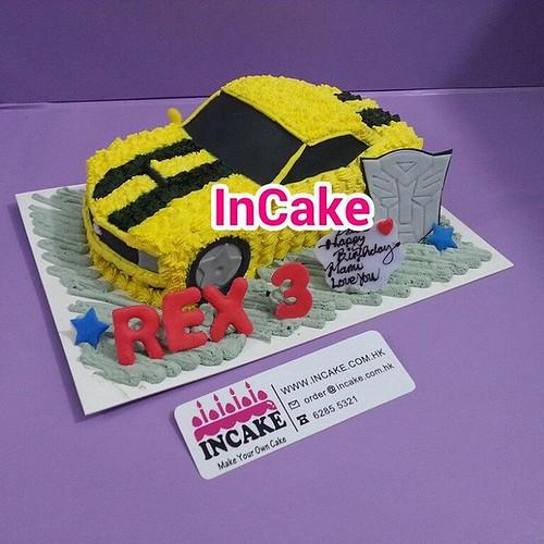 Transformer 3D蛋糕,3D Cake 立體蛋糕