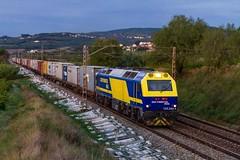 333-380 (evarujo) Tags: barcelona train tren railway prima teco azuqueca adif canonef50mmf18ii cantunis vossloh canoneos7d 333380 lagranadacataluñaespaña continentalraillagranadacataluñaespaña