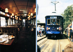 """Restaurant Tram """"H"""" - Type 378, Victoria Square (baytram366) Tags: buses train magazine private scans 2000 state photos south authority transport australian railway class collection h national type among railways glenelg trams 3000 sta ourselves jumbos collected"""