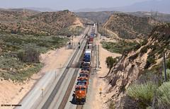 8271 BNSF ( GE ES44C4 ) (vsoe) Tags: california railroad usa america gm eisenbahn railway unionpacific amerika bahn bnsf kalifornien freighttrain zge gterzug emd cajonpass gterzugstrecke