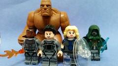 LEGO F[4]ntastic (Wade1Wilson) Tags: lego thing fantastic4 humantorch invisiblewoman drdoom bengrimm suestorm mrfantastic reedrichards johnnystorm victorvondoom f4ntastic