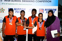 Nippon Paint 13th Inter School Swimming Competition 2015 434