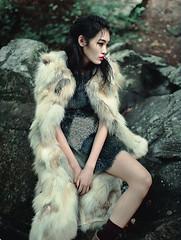 Numero Russia november 2015 (Alexandra Sophie) Tags: november autumn cold wet fashion forest magazine japanese woods russia highfashion novemberissue