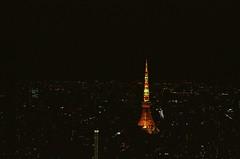 Tokyo Babylon (我的小風景) Tags: leica 50mm tokyo kodak m3 東京鐵塔 六本木 hd200