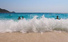 Kaputas Beach, Turkey / Пляж Капуташ, Турция (travelordiephoto) Tags: beach turkey kaputas