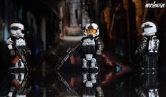 Augmented Soldier (McLovin1309) Tags: brick soldier lego g bricks future minifig custom affliction minifigure augmented crysis brickarms gbricks pecovam
