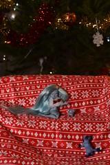 Solo portraits for Christmas: Crystale, Présence & the arctic Fox (Sendell_Caramdir) Tags: christmas dolls bjd depth chimères tendres deilf