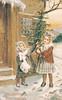 Old Russian Christmas postcard (reprint) (katya.) Tags: christmas vintage russia postcard newyear reprint