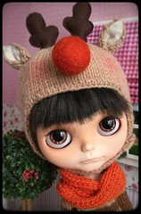 """"""" Will keep trying to put myself in his shoes """" ... #ateliersweetscraft hat #pliskytrix custom blythe doll.."""