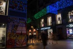 Calle Fuencarral. Dec2015 (PabloCano) Tags: madrid christmas street espaa night lights navidad noche calle spain december malasaa diciembre fuencarral