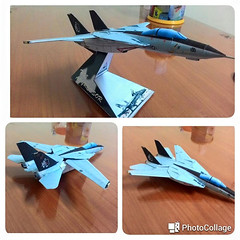 Grumman F-14A Tomcat Fighter Free Aircraft Paper Model Download (PapercraftSquare) Tags: fighter tomcat 1100 grumman f14a grummanf14tomcat aircraftpapermodel