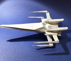 Resistance X-Wing Fighter origami just succeeded (Matayado-titi) Tags: starwars origami space xwing spaceship resistance starship starfighter sugamata matayado shusugamata forceawakens