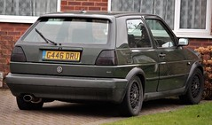 G446 DRU (Nivek.Old.Gold) Tags: 1990 volkswagen golf gti 16v 3door 1781cc