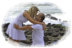 Will & Jackie (Maria Luiza S) Tags: engagement beach noivado praia love amor couple casal kiss beijo