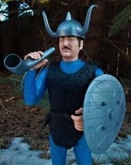 Halvar Trumpets in the New Year (atjoe1972) Tags: marx viking actionfigure toys johnnywest custom brave noble knight sirbrandon blue sword horn bow arrow nordic norseman sixties seventies 1960s 1970s atjoe1972 2017