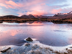 First of the Year At Ba (Stoates-Findhorn) Tags: 2017 blackmount dawn frost glencoe ice lochba rannochmoor scotland snow sunrise winter reflections unitedkingdom lochan na stainge