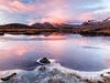 First of the Year At Ba (Stoates-Findhorn) Tags: 2017 blackmount dawn frost glencoe ice lochba rannochmoor scotland snow sunrise winter reflections unitedkingdom lochan na stainge