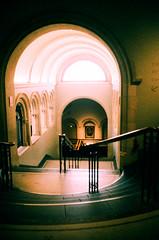 National Portrait Gallery (oh it's amanda) Tags: ricohff1 london londonengland nationalportraitgallery museum 35mm xpro crossprocessed fujisensia400 expiredfilm expirationdateunknown