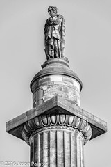St Andrew Square (Japester68) Tags: 3star bw christmas scotland uk art city day monument outdoor pillar plinth sculpture statue trip