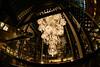 Baccarat Housing (H.H. Mahal Alysheba) Tags: night tokyo snapshot christmas illumination wide fisheye sigma 15mmf28 nikon city