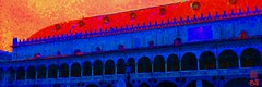 82.Padova-2 (Everyday images) Tags: piazza italy padova color blue photoshop iphone