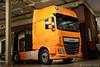DAF XF 510 Super Space Cab (2016-11) (Martin Vonk) Tags: daf xf 510 super space cab museum eindhoven orange oranje demo euro6