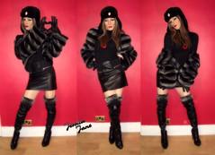 From Russia With Love ♥ (jessicajane9) Tags: cd feminised m2f boy2girl tranny tg gurl transvestite trap tgurl tv transgender lgbt tgirl trans crossdress xdress crossdressing crossdresser boots leather fur