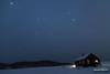 Lone Quadrantid (kevin-palmer) Tags: bighornmountains bighornnationalforest muddyguardcabin wyoming night sky stars starry dark astrophotography astronomy logcabin lights shadows cold frigid subzero winter january snow snowy quadrantid meteor meteorshower shootingstar fence rustic nikond750 tokina1628mmf28 astrometrydotnet:id=nova1895939 astrometrydotnet:status=failed