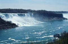 Ontario - 2000 (183-32) (MacClure) Tags: canada ontario niagarafalls waterfalls maidofthemist boat americanfalls