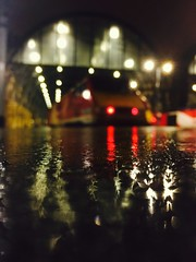 Picture This (Explore) (sjpowermac) Tags: iphone anniversary picture 91120 rainy reflection bokeh 10th introduction platform class91 electric locomotive london kgx