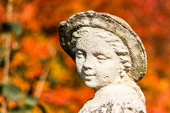 Weather-worn sculpture