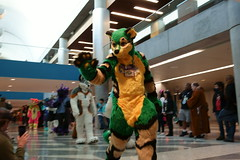 FCParade2017_03_-20170114-00047 (Kory / Leo Nardo) Tags: fur furry fursuit suiting dance party dj con convention further confusion fc san jose marriott center parade walk march fc2017 2017 pupleo kory