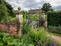 Hidcote Garden Gate, Cotswolds (Bob Radlinski) Tags: england europe gloucestershire greatbritain hidcotebartrim hidcotegardens nationaltrust uk travel