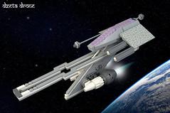 DZETA Drone (01) (F@bz) Tags: sf space starfighter drone lego moc spaceship droneuary