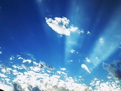 Atardecer en casa (katherinecontreras) Tags: clouds nubes sun rayosdesol sol sky cielo casa atardecer