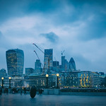Towers of London Skyline & The Thames by Simon & His Camera thumbnail
