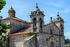 Santa Liberata (Franco D´Albao) Tags: francodalbao dalbao nikond60 iglesia church santaliberata bayona galicia arquitectura architecture campanarios belltowers templo temple lucernario