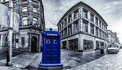 Buchanan Street Police Box (ianmiddleton1) Tags: glasgow panorama hss sliderssunday hdr