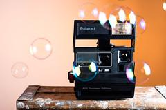 Business Polaroid / Party Bubbles (justinlangston336) Tags: werehere polaroid bubbles