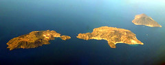 Islands... (Vulcano, Lipari and Salina) (ondaeoliana) Tags: eolie isole aeolianislands vulcano lipari salina air foto aerea