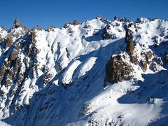 Guided Skiing in frey hut, Bariloche, Patagonia, Argentina