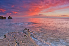 A Wherry nice sunrise. (paul downing) Tags: pauldowning pd1001 pauldowningphotography nikon d7200 sunrise wherry whitburn northsea hitech gnd 12 filters